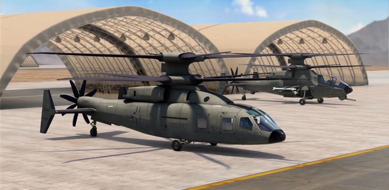 מסוק קרב לוקהיד מרטין/ צילום: מתוך הוידאו