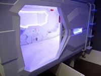 מלון קפסולת חלל/ צילום: יחצ ו Met A Space Pod