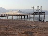 חוף קאצצא אילת/ צילום: עיריית אילת