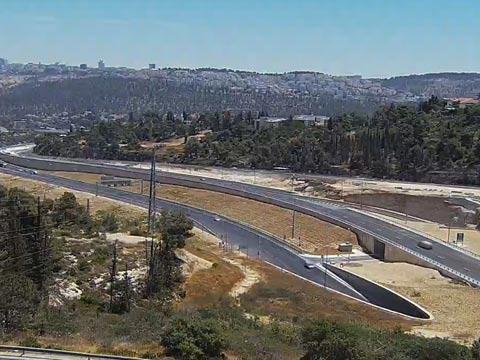 כביש 1 מחלף הראל/ צילום: נתיבי ישראל
