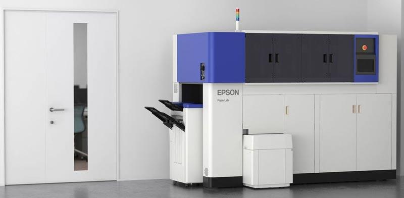 """מדפסת אפסון למחזור דפים / צילום: יח""""צ"""