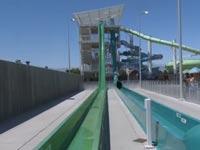 מגלשת מים קליפורניה/ צילום: מתוך הוידאו