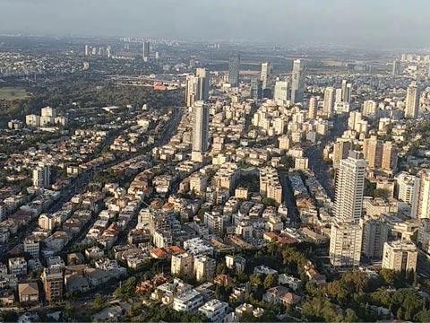 """נדל""""ן, , עיר צפופה, מבט ציפור / צילום: דפי הירשפלד-שלם"""