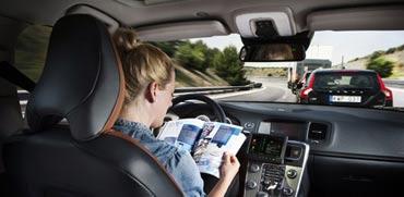 מכונית אוטונומית / צילום: מתוך הוידאו