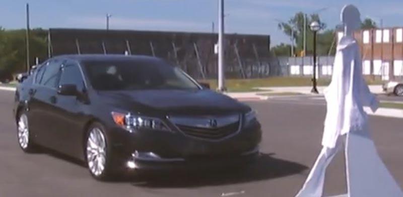 חניון לרכבים אוטונומים / צילום: מתוך הוידאו