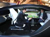 "תא נוסעים אינטראקטיבי פנסוניק, תערוכת CES / צילום: יח""צ"