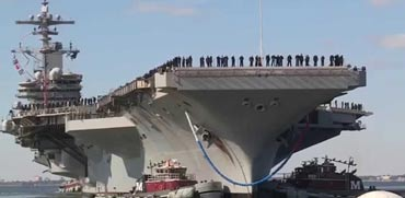 נושאת המטוסים הגדולה בעולם/ צילום: מתוך הוידאו