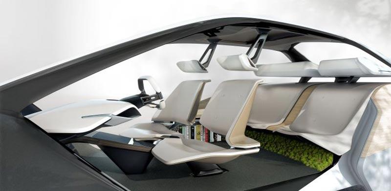 עיצוב פנים חדשנים למכונית BMW  תערוכת CES / צילום: וידאו