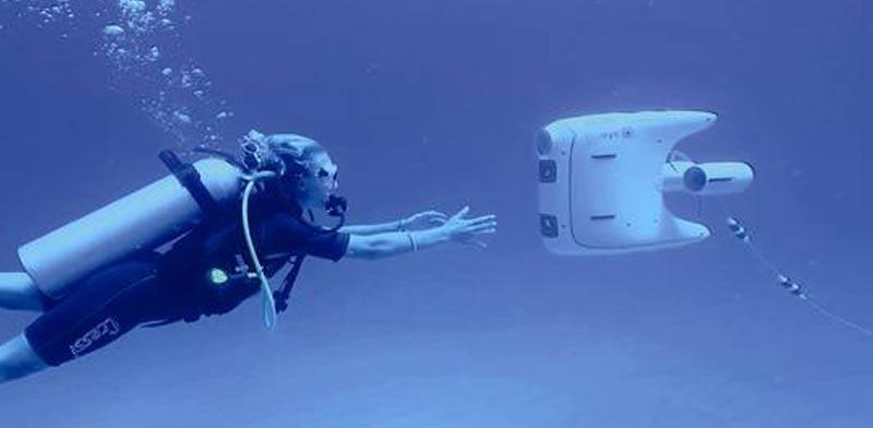 רחפן מים Blueye Robotics / צילום: Blueye