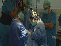 """ניתוח זעיר פולשני ברמב""""ם   צילום: מתוך הוידאו"""