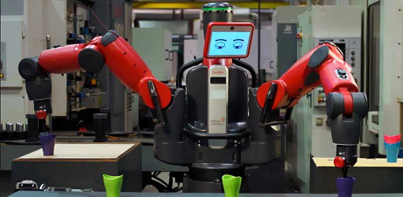 רובוט בקסטר/ צילום: מתוך הוידאו