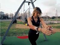 פיפל ביז רצועות כושר/ צילום: מתוך הוידאו