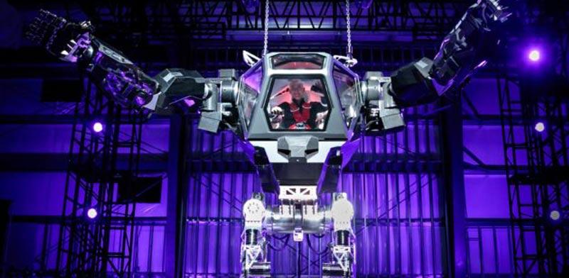 הרובוט הגדול בעולם/ צילום: מתוך הוידאו