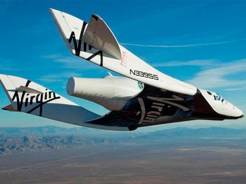 חללית ווירג'ין גלקטיק / צילום:יחצ