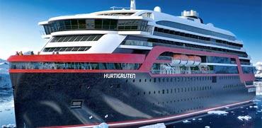 צפו: הושקה אחת מספינות התענוגות המתקדמות בעולם