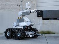רובוט משטרה / צילום: מתוך הוידאו