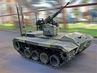 רכב רובוטי צבאי/ צילום: מתוך הוידאו