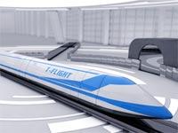 רכבת קפסולה היפרלופ/ צילום: הדמיה