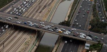 פקקי תנועה, כבישים/ צילום: תמר מצפי