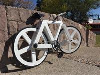 אופניים ממוחזרים Urban GC1/ צילום: מתוך הוידאו קיקסטארטר