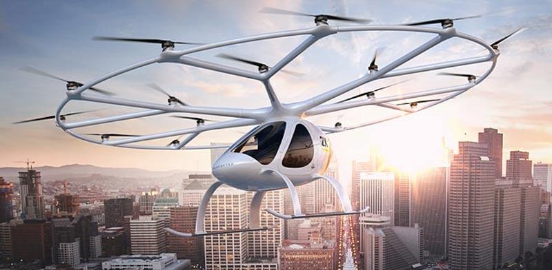 מסוק רחפן volcopter/ צילום: יחצ