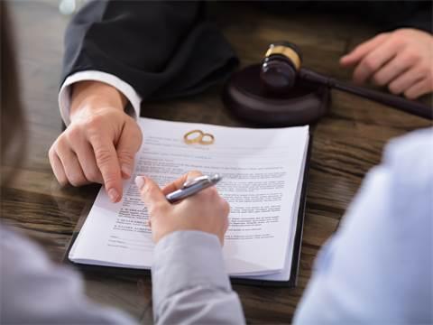 פרמטרים לחלוקה בין נכסי בני זוג במעמד הגירושין/צילום: Shutterstock/ א.ס.א.פ קרייטיב