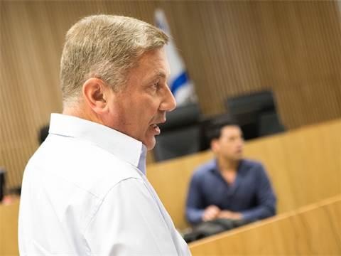 נוחי דנקנר בבית המשפט / צילום: שלומי יוסף