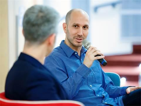 רועי אלבז ודרור גלוברמן על תשוקה וקריירה/צילום: ענבל מרמרי