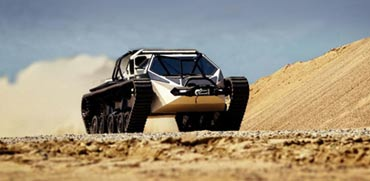 "רכב שטח Ripsaw EV3-F1, צילום: יח""צ"
