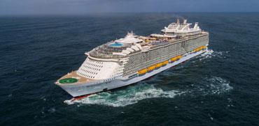 פאר בלתי נתפס: ספינת התענוגות הגדולה בעולם יוצאת לדרך