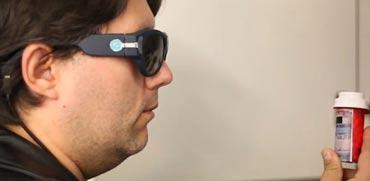צפו: משקפיים חכמים לעיוורים מבוססי בינה מלאכותית