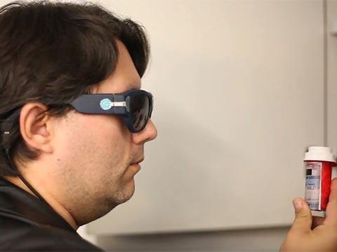 משקפיים עם בינה מלאכותית/ צילום: מתוך הוידאו