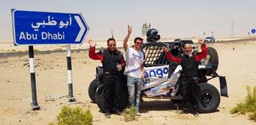 מה עשה צוות ישראלי במירוץ מכוניות שטח באבו-דאבי