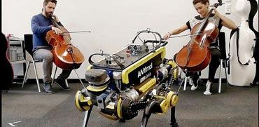 מדענים משוויץ פיתחו רובוט שמלמד את עצמו לרקוד