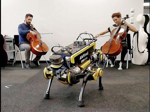 רובוט רוקד/ צילום: מתוך הוידאו