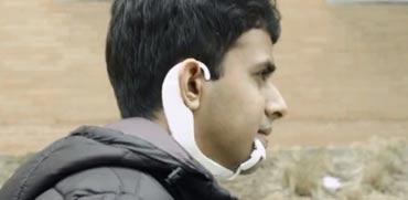 צפו: סט אוזניות מבוסס בינה מלאכותית קורא מחשבות
