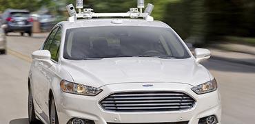 צפו: פורד בניסוי כלים אמיתי למכונית האוטונומית שלה
