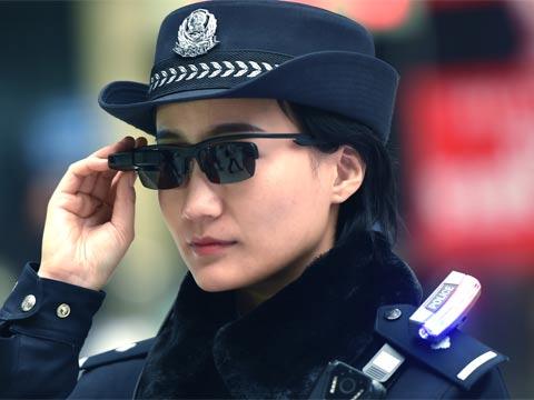 משקפיים לזיהוי פנים לשוטרים/ צילום: יחצ