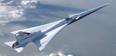 """מניו יורק ללוס אנג'לס בשעתיים: המטוס העל קולי של נאס""""א"""
