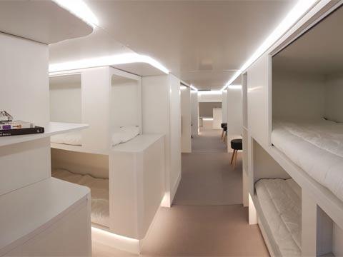 חדר אירוח במטוס, צילום: Airbus