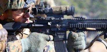 רובה M27/ צילום: מתוך הוידאו