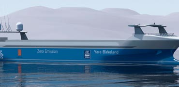 ספינה אוטונומית ראשונה בעולם תושק כבר ב-2020