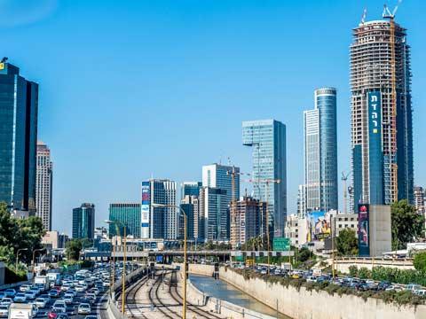 תל אביב פקקים, צילום: shutterstock