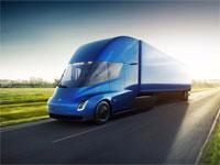 המשאית החשמלית של טסלה, צילום: טסלה