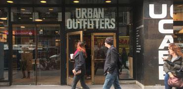 URBAN OUTFITTERS פותחת חנות ראשונה בישראל