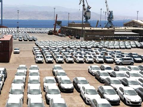 מכוניות נמל אשדוד  / צילום: תמר מצפי, גלובס