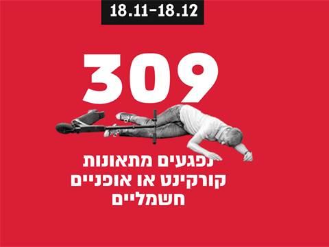 309 נפגעים  / צילום: אפרת לוי, גלובס