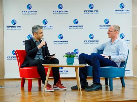 רון יקותיאל ודרור גלוברמן על תשוקה וקריירה/צילום: ענבל מרמרי