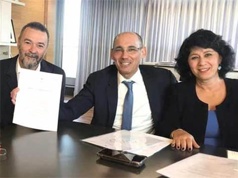 חדוה בר , הנגיד ונכט / צילום: דוברות בנק ישראל