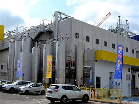 מפעל במבה החדש בקריית גת / צילום: אייל יצהר
